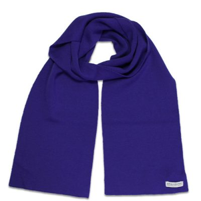 Branberry Merino Wool Scarf in Galaxy Blue