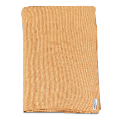 Product image of Branberry Pure Australian Merino Wool, Bobbie Throw Blanket in Copper